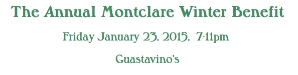 The Annual Montclare Winter Benefit